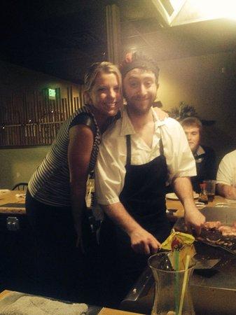 Shoji's Medford: Fun, witty cooks :)