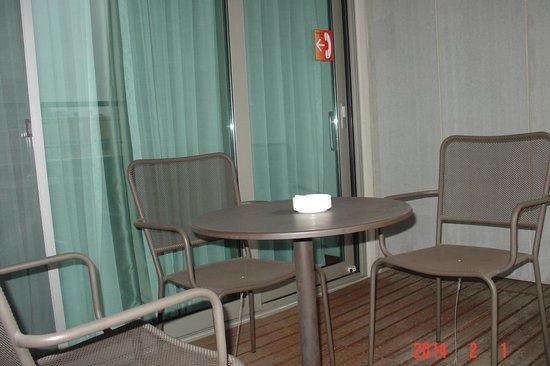 Hotel PJ Myeongdong: balcony