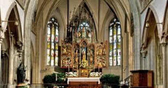 Nonnberg Convent : ノンベルク教会内部
