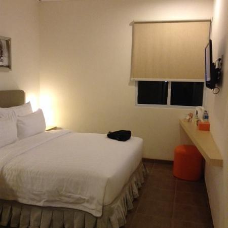 d'primahotel WTC Mangga Dua : small room