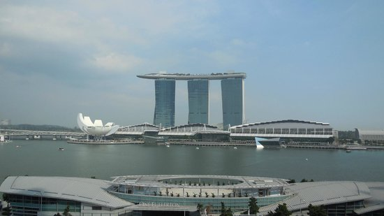 The Fullerton Hotel Singapore : Marina Bay Sands