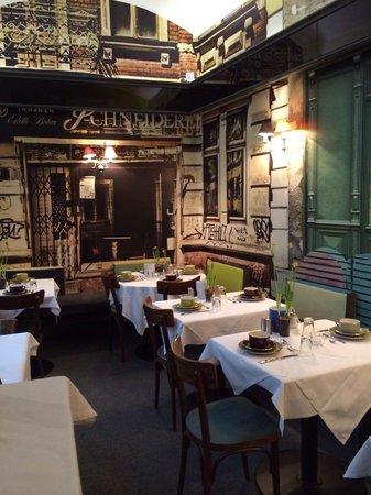 Hotel Saint Shermin: frühstücksraum