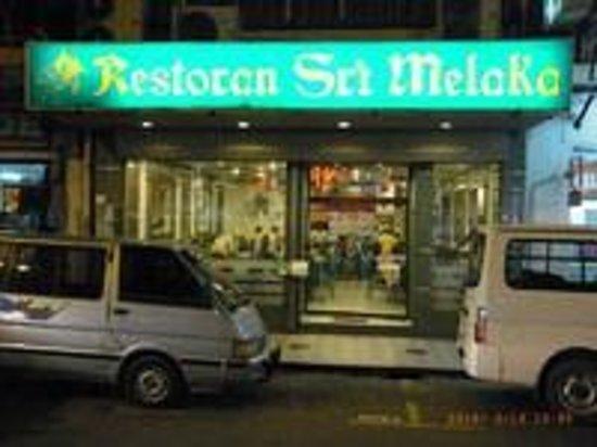 Restoran Sri Melaka: 地元の人気店
