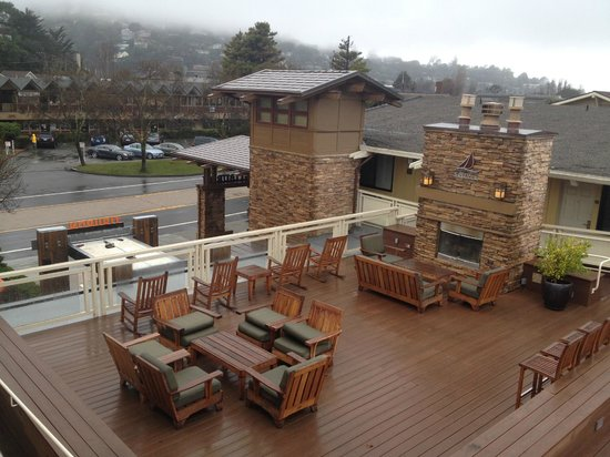 The Lodge at Tiburon: View from Our Room