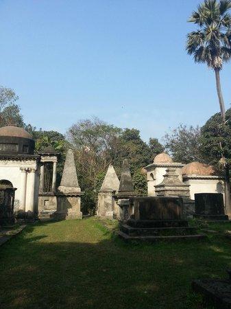 South Park Street Cemetery: green