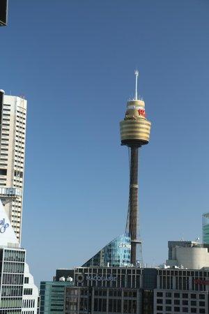 Amora Hotel Jamison Sydney: アモラ ホテル ジャミソン シドニー、31階から見るシドニータワー