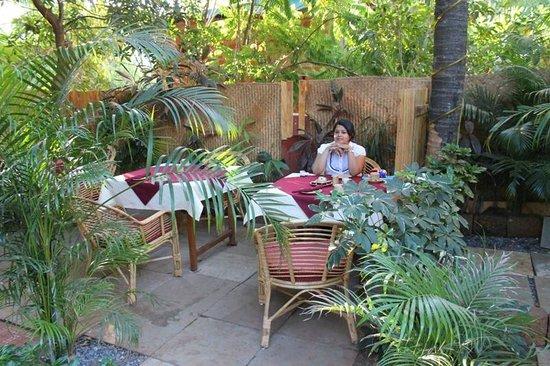 Victoria Villa: Breakfast area