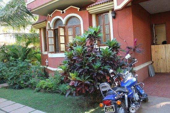 Victoria Villa: Entrance