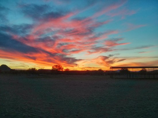 White Stallion Ranch: Evening SUnset