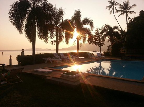 Samui Tonggad Resort: Sunset