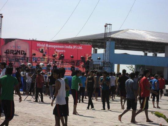 Patna, India: Live Dj party
