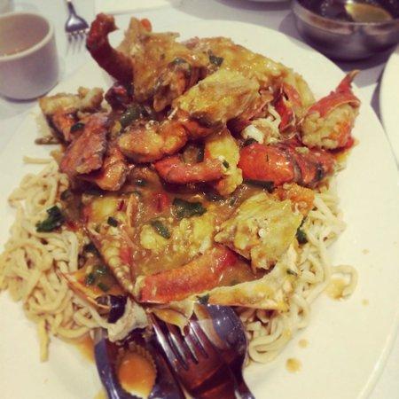 Golden Century : Szechuan Style Spicy Crab