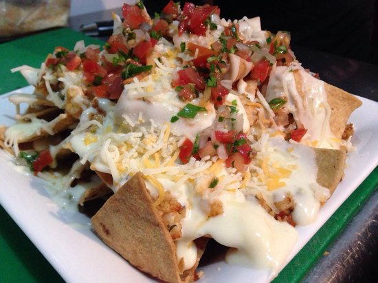 The Wet Cactus Cantina & Grill: Lobster nachos
