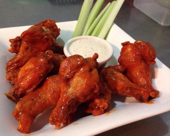 The Wet Cactus Cantina & Grill: Buffalo Wings