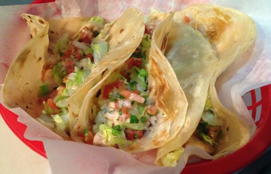 The Wet Cactus Cantina & Grill: Fish Tacos