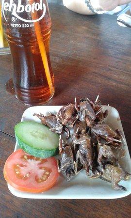 Tembi Rumah Budaya: Fried little birdie