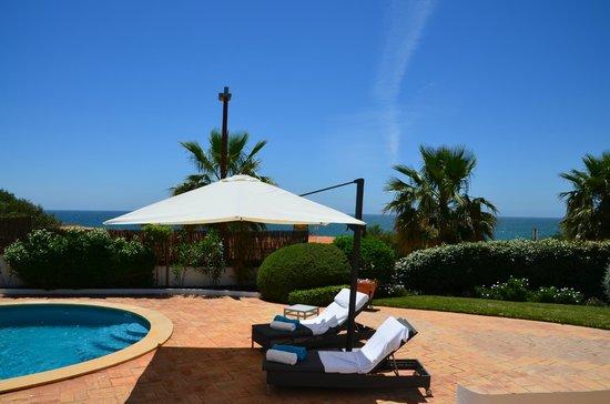 Vale do Lobo Resort: Villa 488 - swiming pool area and view over the sea