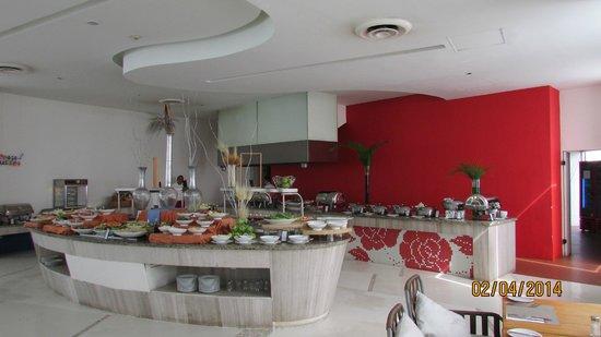 Hilton Puerto Vallarta Resort: Buffet