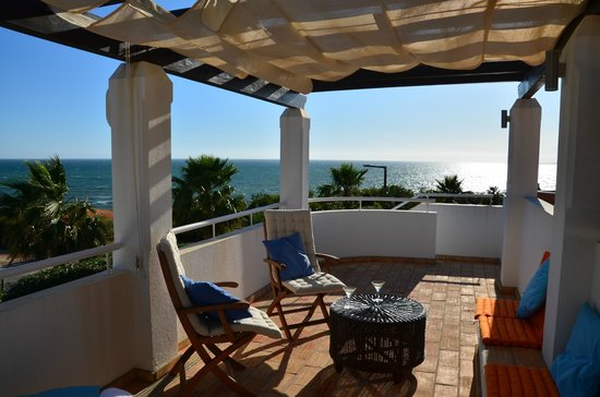 Vale do Lobo Resort : Villa 488 - View over the sea from the 1st floor