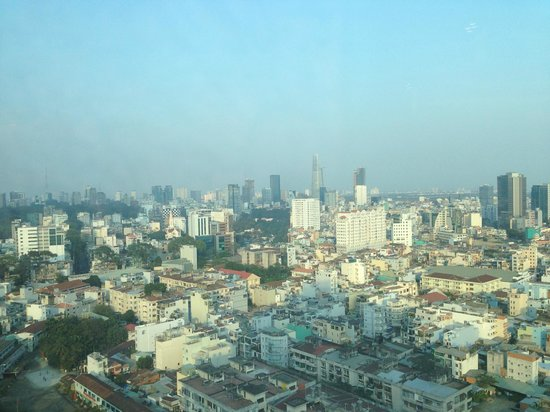Hotel Nikko Saigon: View from 23rd floor
