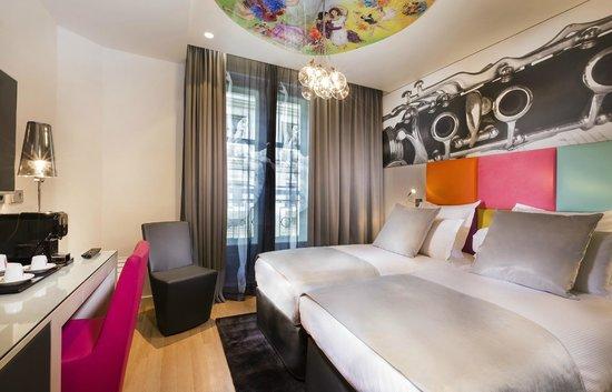 Lyric Hotel Paris : Twin Executive