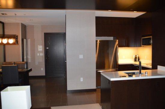 Vdara Hotel & Spa : kitchen area