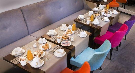 Lyric Hotel Paris: Petit-déjeuner