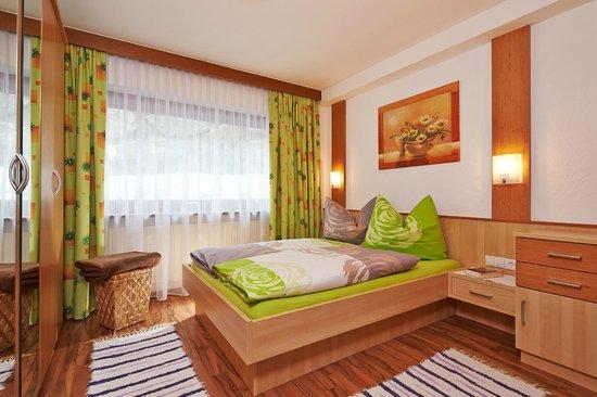 Grünwald Resort Sölden: Schlafzimmer Apartment 2 Personen