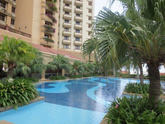 Hotel Equatorial Melaka : プール