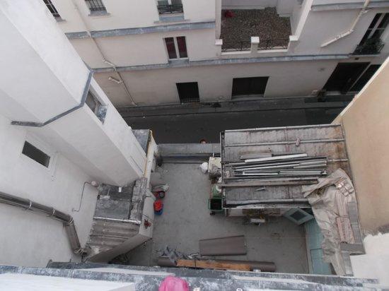 Hotel des Fontaines : Rassurant en cas d'incendie ...