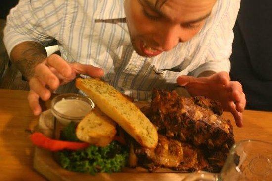 V Kolkovne Restaurant : Great portion sizes!