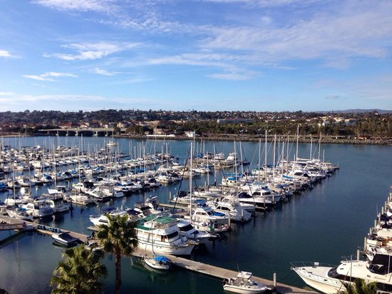 Hilton San Diego Airport/Harbor Island : View from balcony