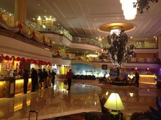 Regency Hotel Shantou : Холл отеля