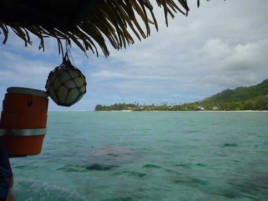 Koka Lagoon Cruises: lovely views of nga motu-and loved the education