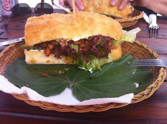 The Mooring: Chicken Sandwich