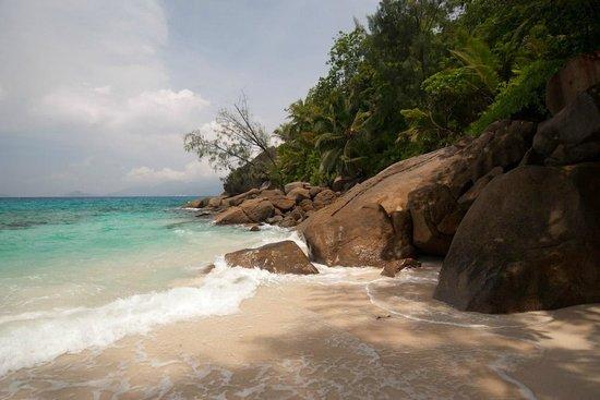 Anse Soleil Beachcomber: дальная часть пляжа