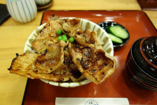Hageten : はげ天豚丼