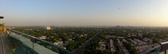 The Leela Palace New Delhi: Scenic views from the roof