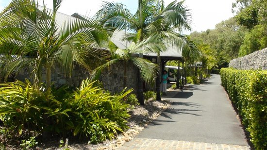 Qualia Resort: Outside the Pavillion