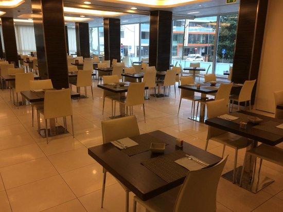 Aqua Hotel : sala colazione