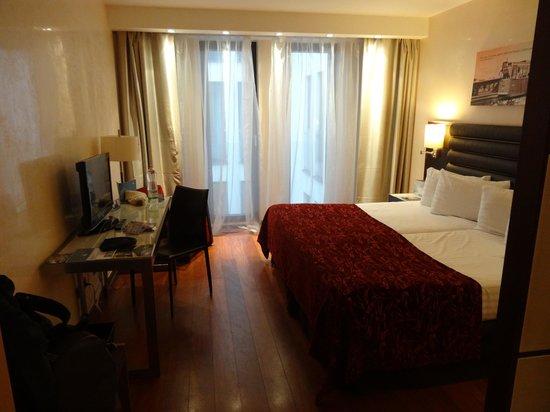 Eurostars Budapest Center Hotel : notre chambre