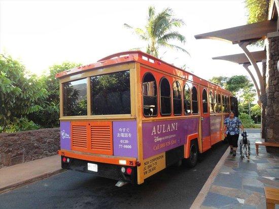 Aulani, a Disney Resort & Spa: バス