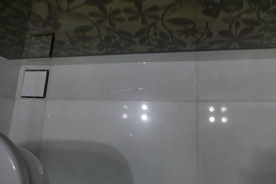 Naumi Hotel: Bathroom water leaking to toilet