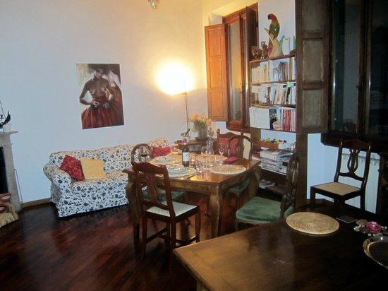 Gourmet Giglio Bianco B&B: living room