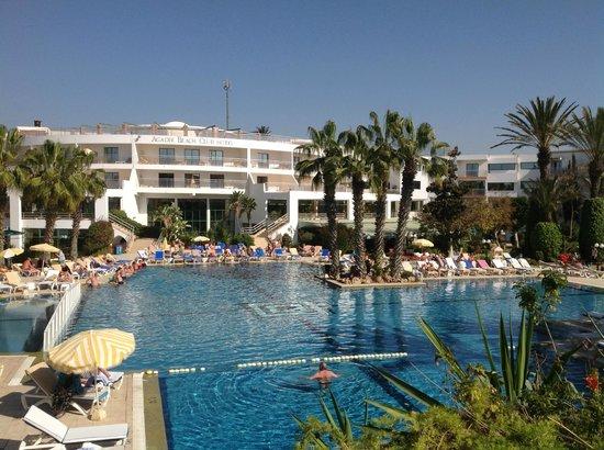 Hotel Agadir Beach Club: Piscine et bâtiment principal !