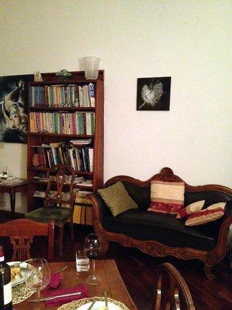 Gourmet Giglio Bianco B&B : living room