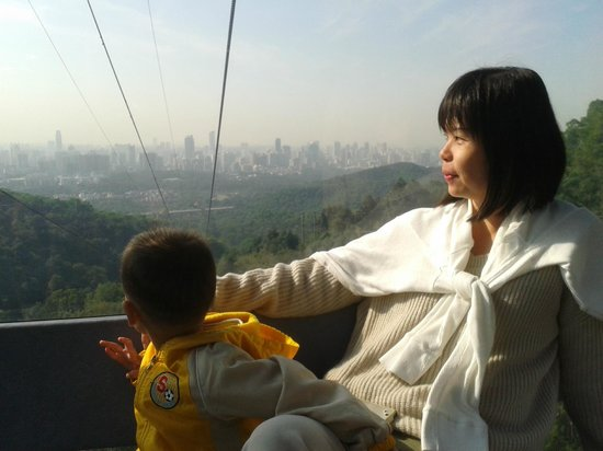 Baiyun Mountain : Cable car ride