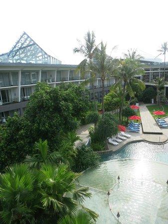 Le Meridien Bali Jimbaran : Внутренний двор отеля