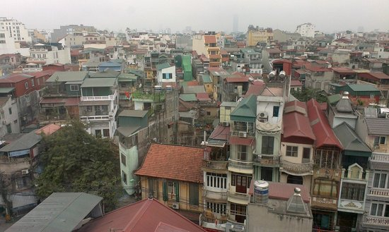Hanoi Tirant Hotel : view from my room