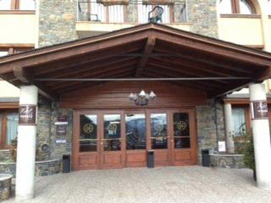 Xalet Verdu Hotel: Fachada del hotel